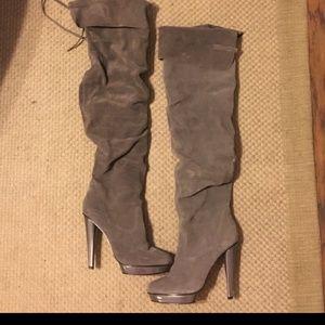 Steve Madden thigh high boots